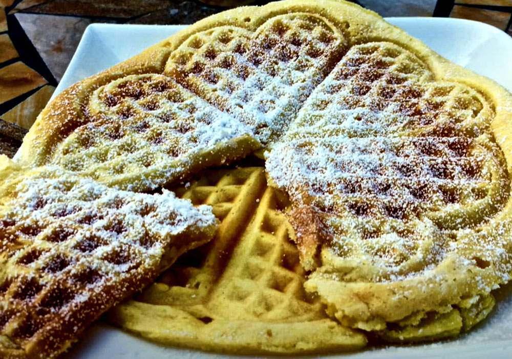 Мягкие вафли - пошаговый рецепт, фото 1