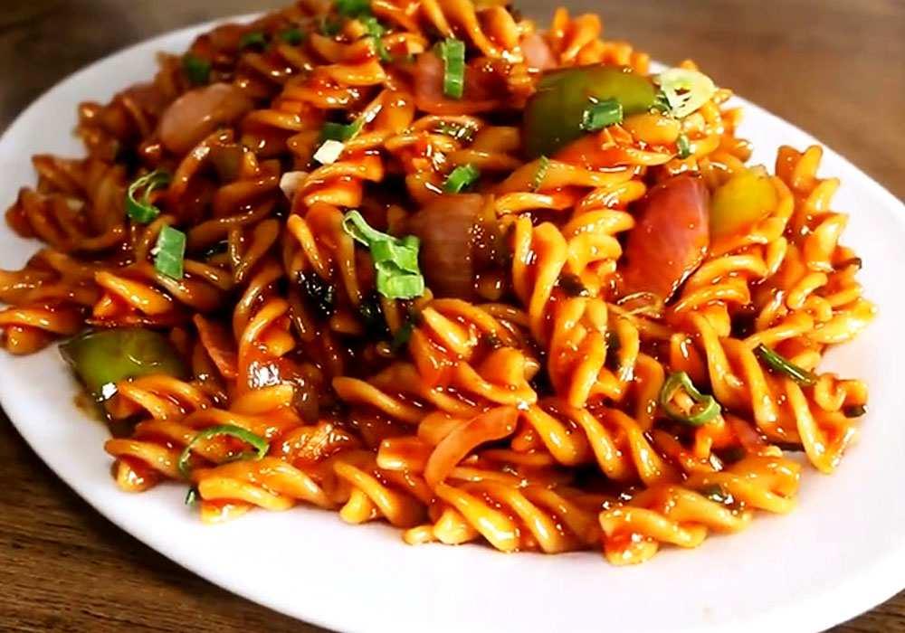 Макароны по-китайски - пошаговый рецепт, фото 1