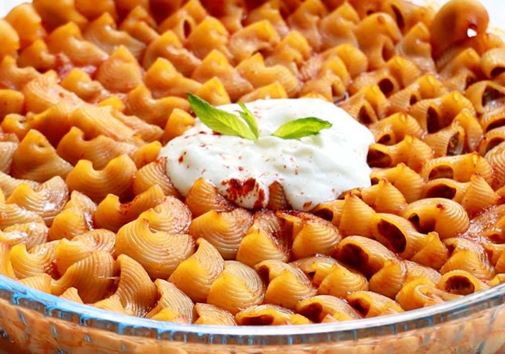 Макароны с фаршем в духовке - пошаговый рецепт, фото 1