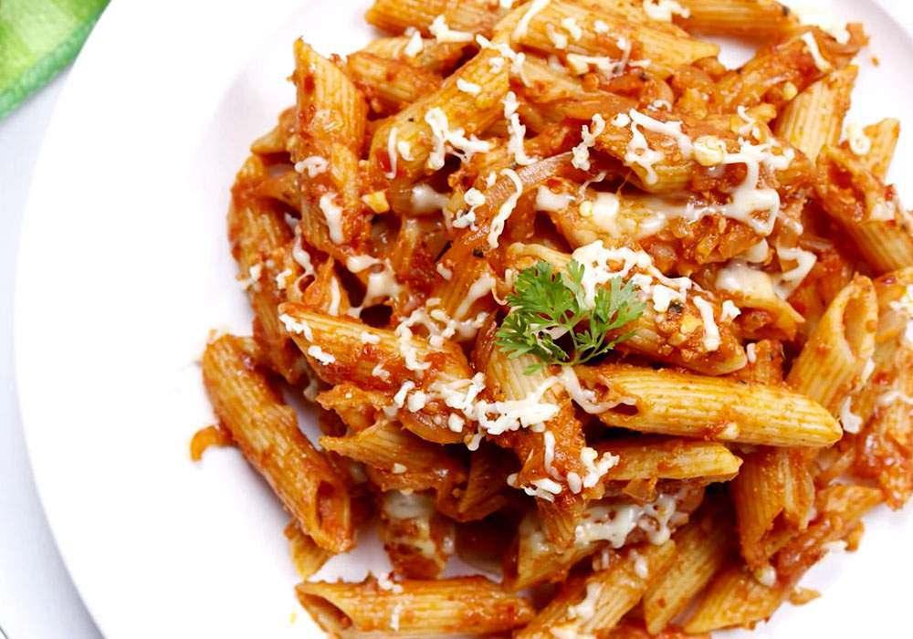 Макарони з помідорами - покроковий рецепт, фото 1