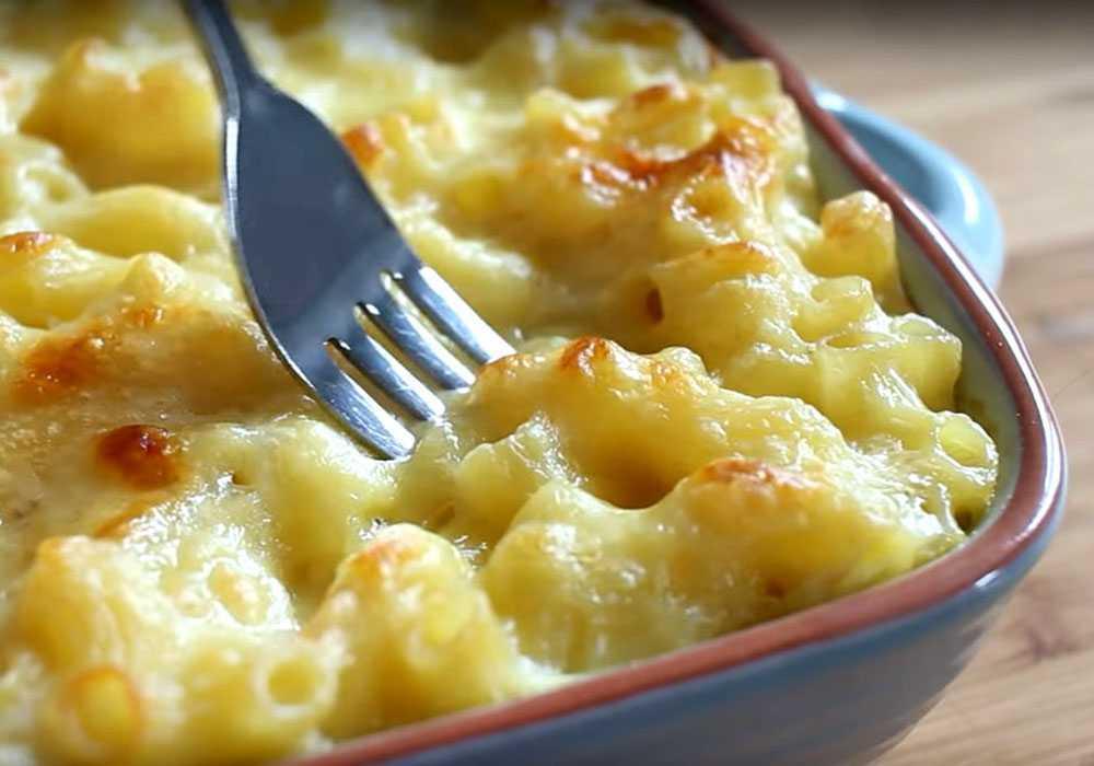Макароны с сыром в духовке - пошаговый рецепт, фото 1