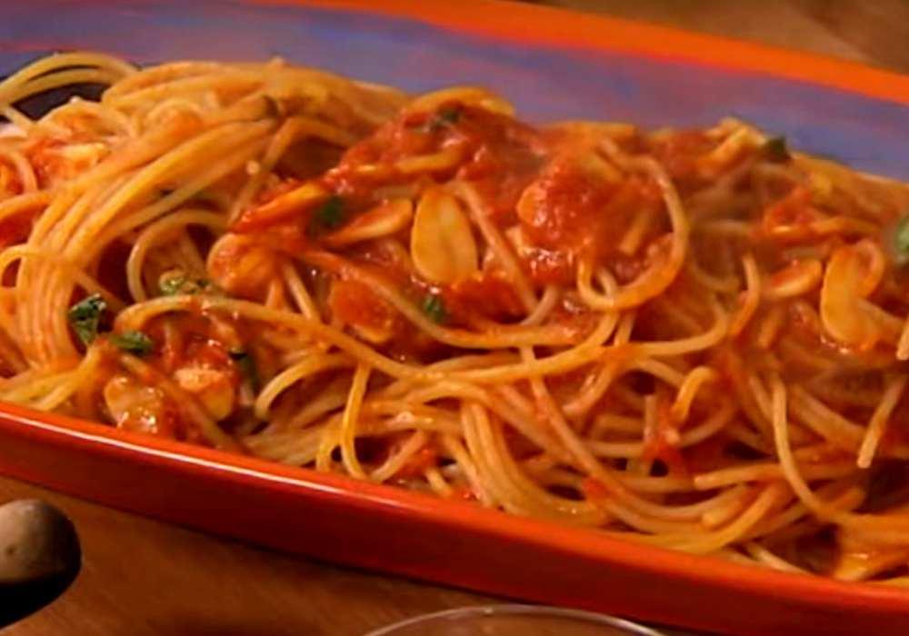 Макароны в томатной пасте - пошаговый рецепт, фото 1