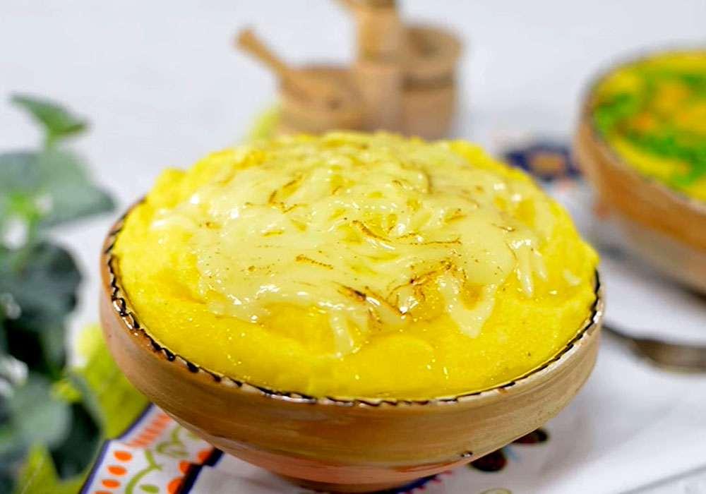 Мамалыга по‑ямайски (кукурузная каша) - пошаговый рецепт, фото 1