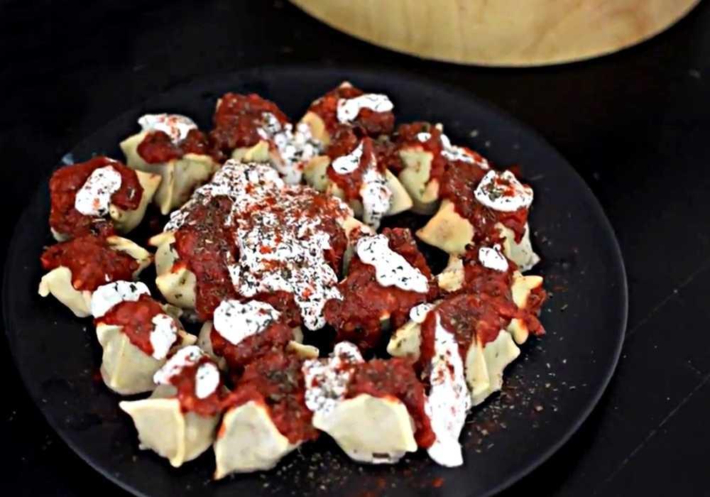 Манты из фарша в духовке - пошаговый рецепт, фото 1