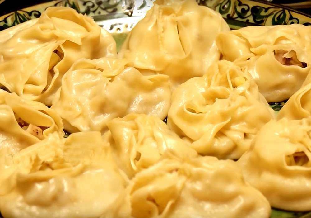 Манты с картошкой - пошаговый рецепт, фото 1