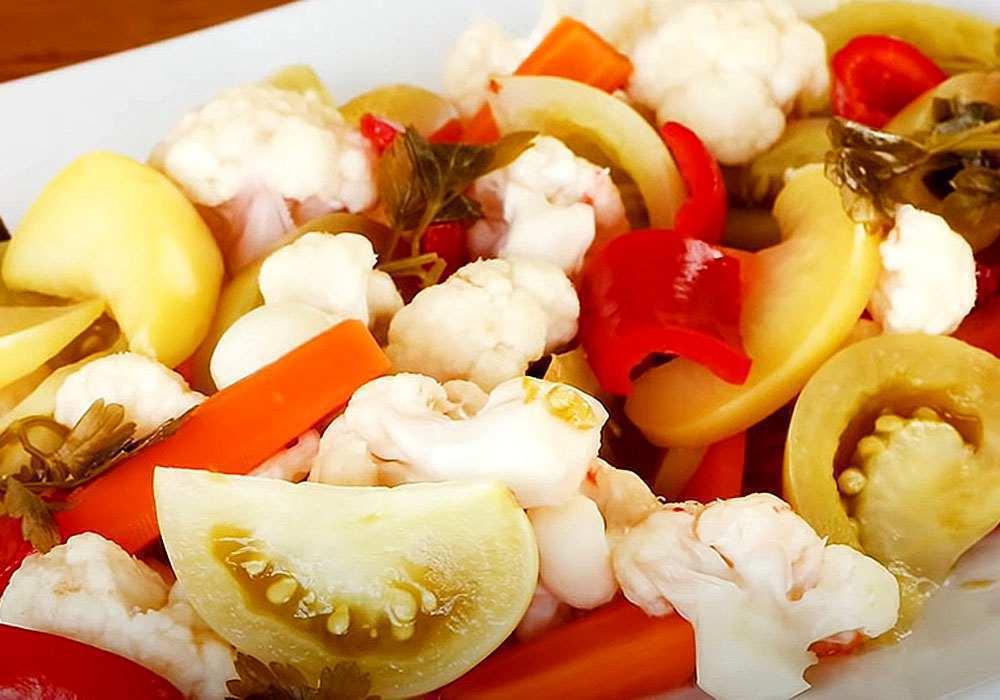 Маринована цвітна капуста (на зиму) - покроковий рецепт, фото 1