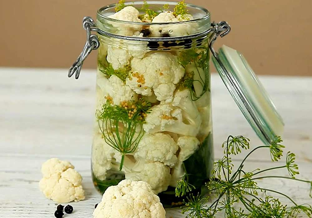 Маринована цвітна капуста - покроковий рецепт, фото 1