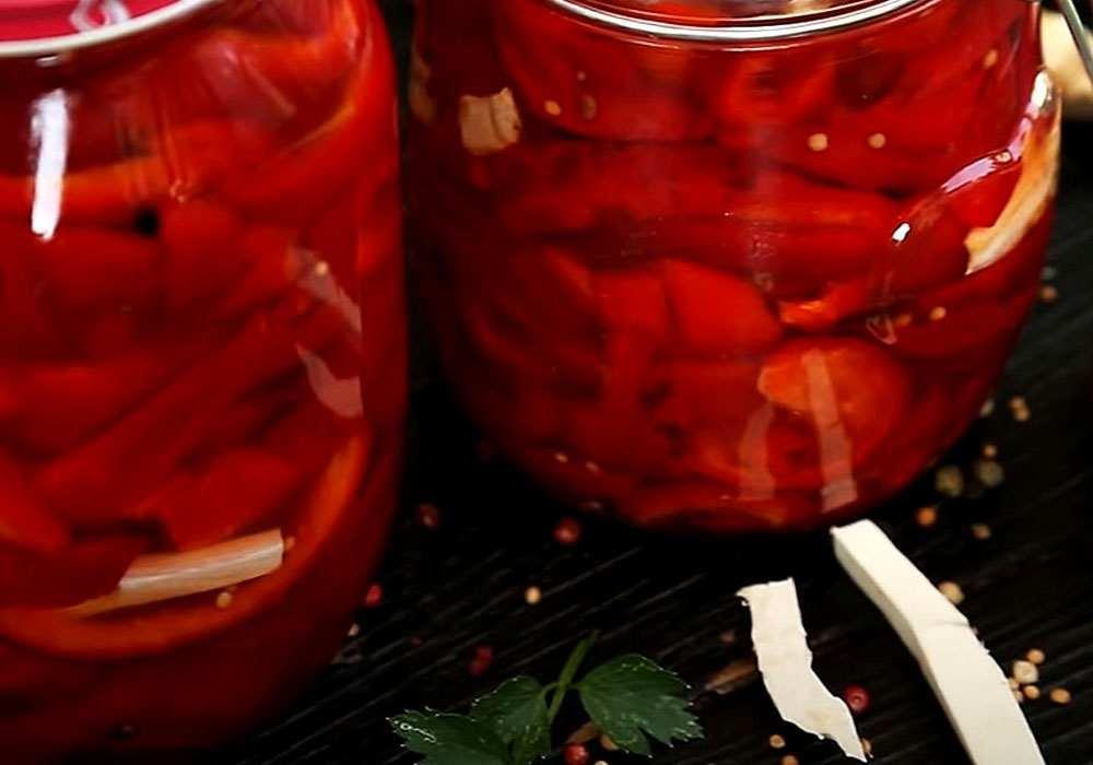 Маринований болгарський перець на зиму - покроковий рецепт, фото 1