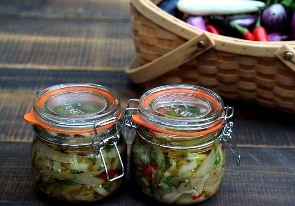 Мариновані баклажани швидкого приготування - покроковий рецепт, фото 1