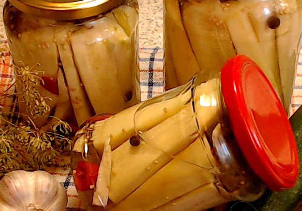 Маринованные кабачки на зиму - пошаговый рецепт, фото 1