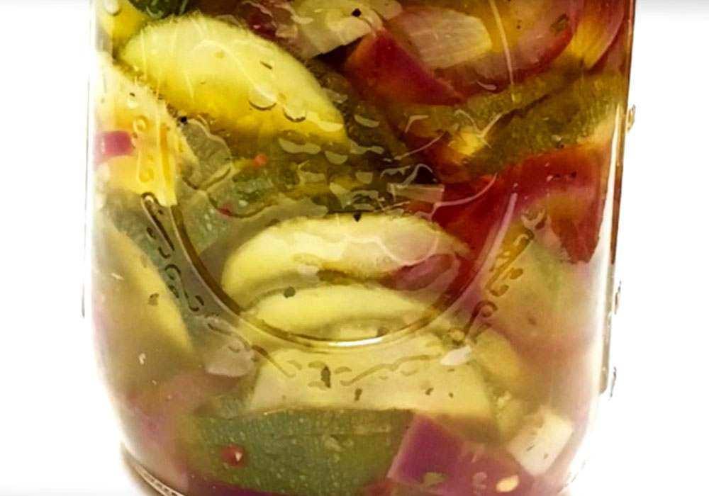 Маринованные кабачки за сутки - пошаговый рецепт, фото 1