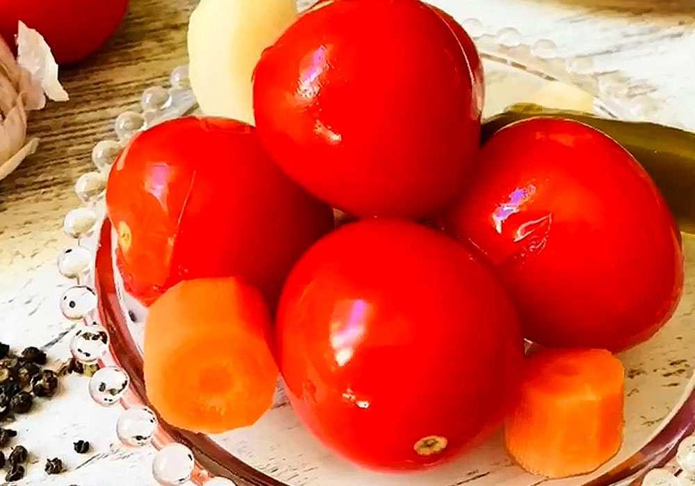 Маринованные помидоры (без стерилизации) - пошаговый рецепт, фото 1