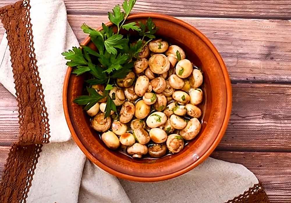Маринованные шампиньоны за 7 минут - пошаговый рецепт, фото 1