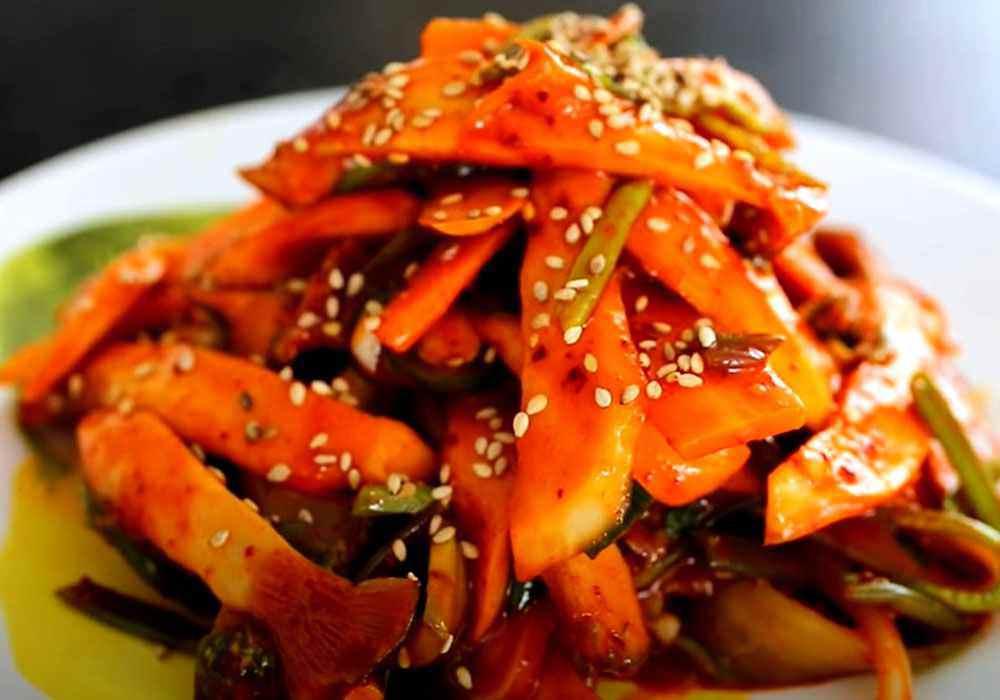 Мариновані гливи по-корейськи - покроковий рецепт, фото 1