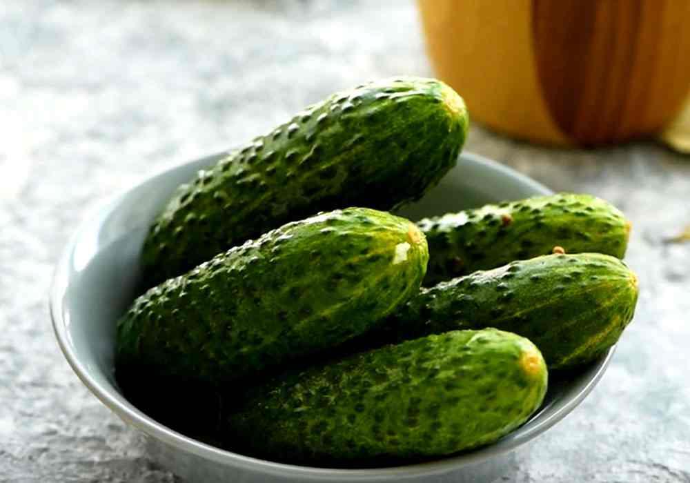 Мариновані огірки хрусткі - покроковий рецепт, фото 1