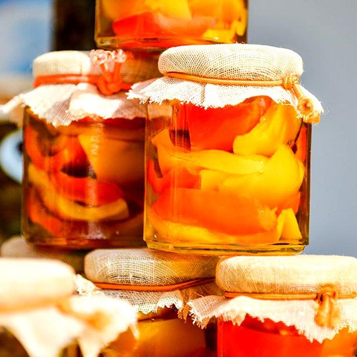 Маринованный сладкий перец с яблоками - пошаговый рецепт, фото 1