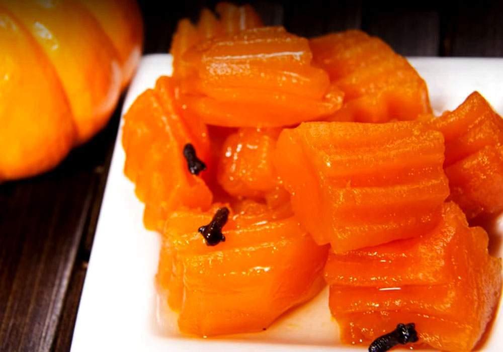Мармелад из тыквы - пошаговый рецепт, фото 1