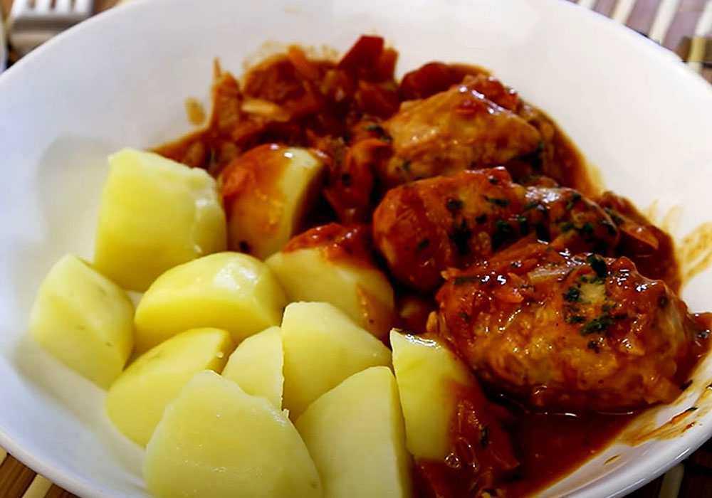 М'ясні тефтелі в томатному соусі - покроковий рецепт, фото 1