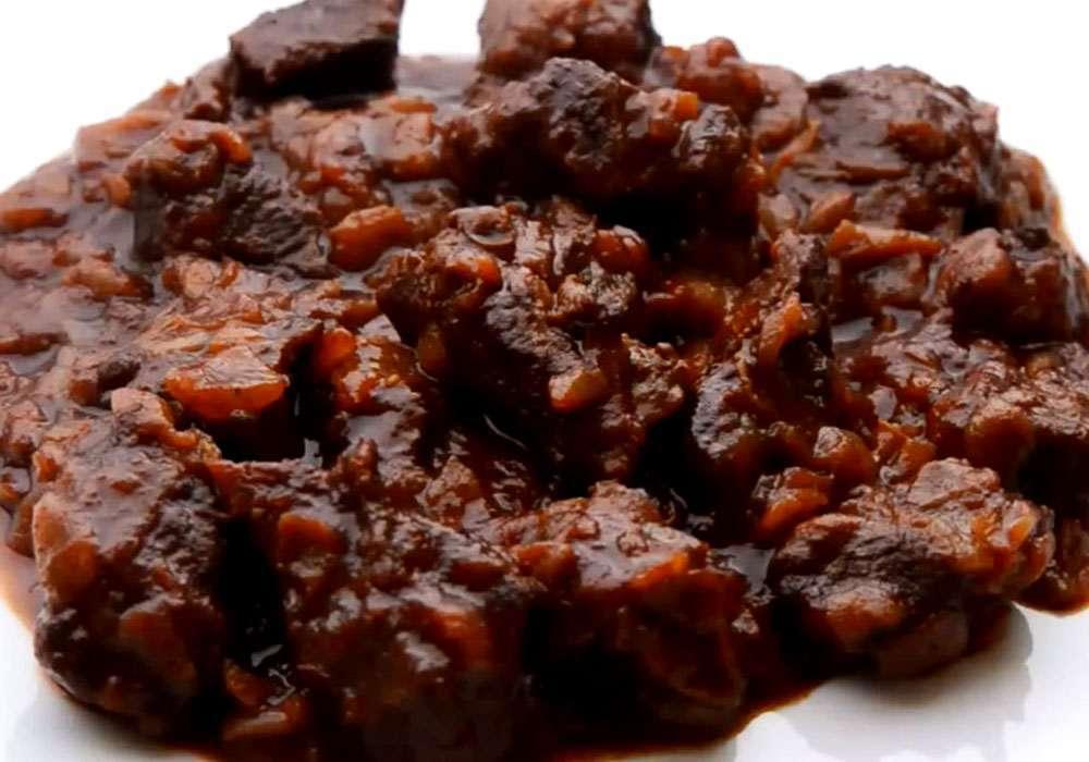 М'ясний гуляш по-домашньому - покроковий рецепт, фото 1