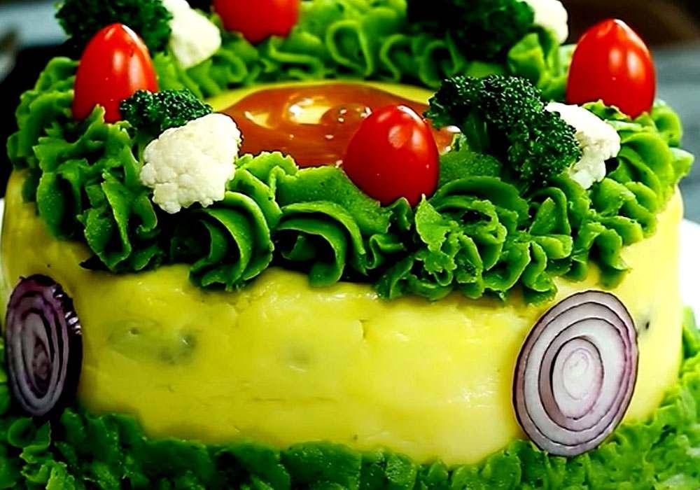 Мясной пирог с картофелем - пошаговый рецепт, фото 1
