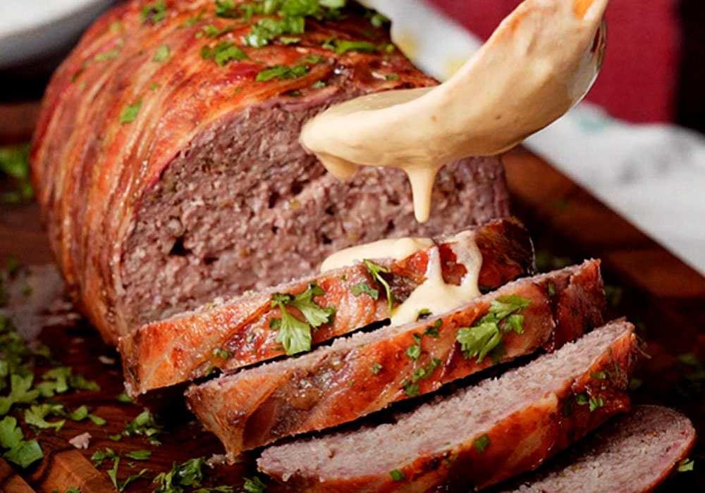 М'ясний рулет з беконом - покроковий рецепт, фото 1