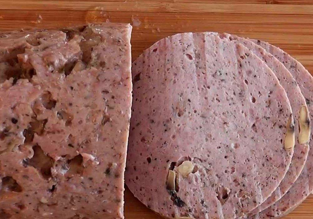 Мясной рулет с грибами - пошаговый рецепт, фото 1