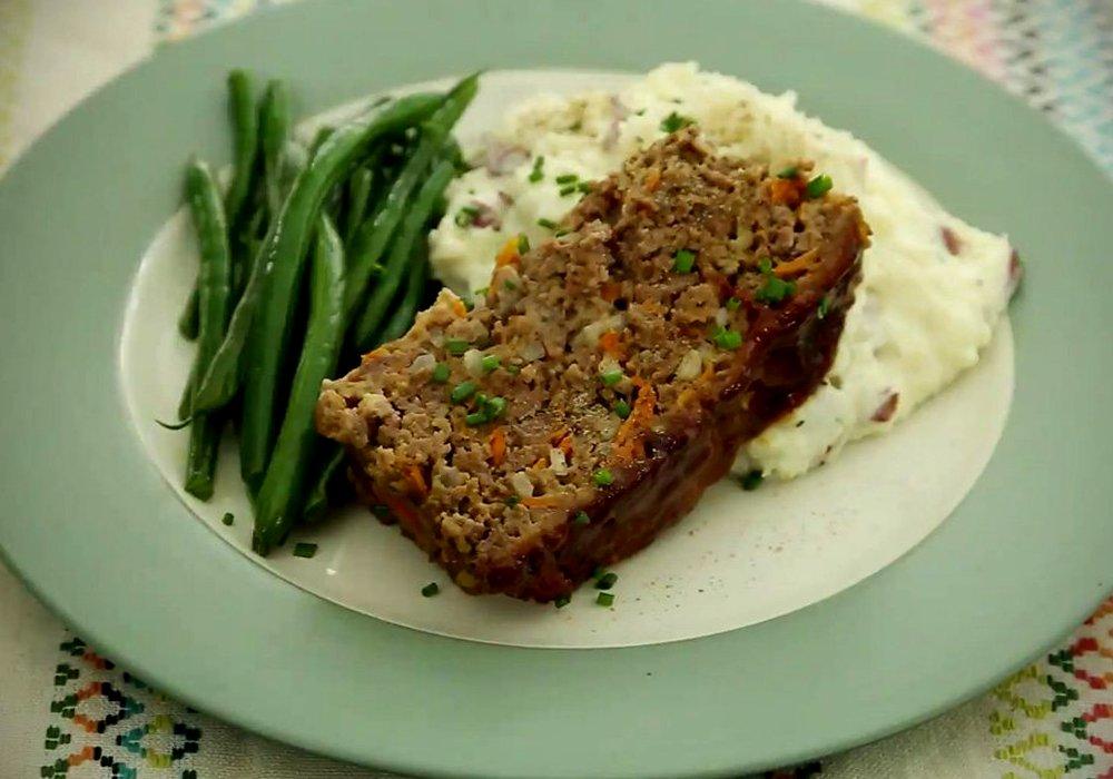 Мясной рулет с овощной начинкой - пошаговый рецепт, фото 1