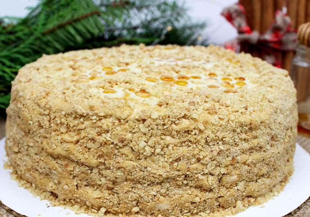 медовый торт со сгущенкой рецепт с фото человека связано