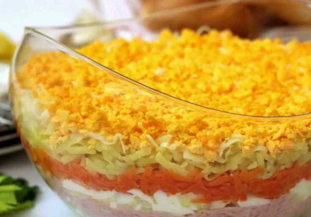 Мимоза с картошкой - пошаговый рецепт, фото 1