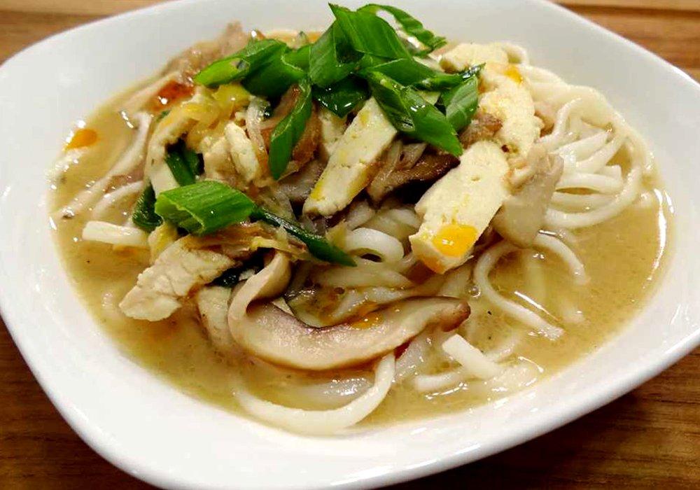 Мисо суп с курицей - пошаговый рецепт, фото 1