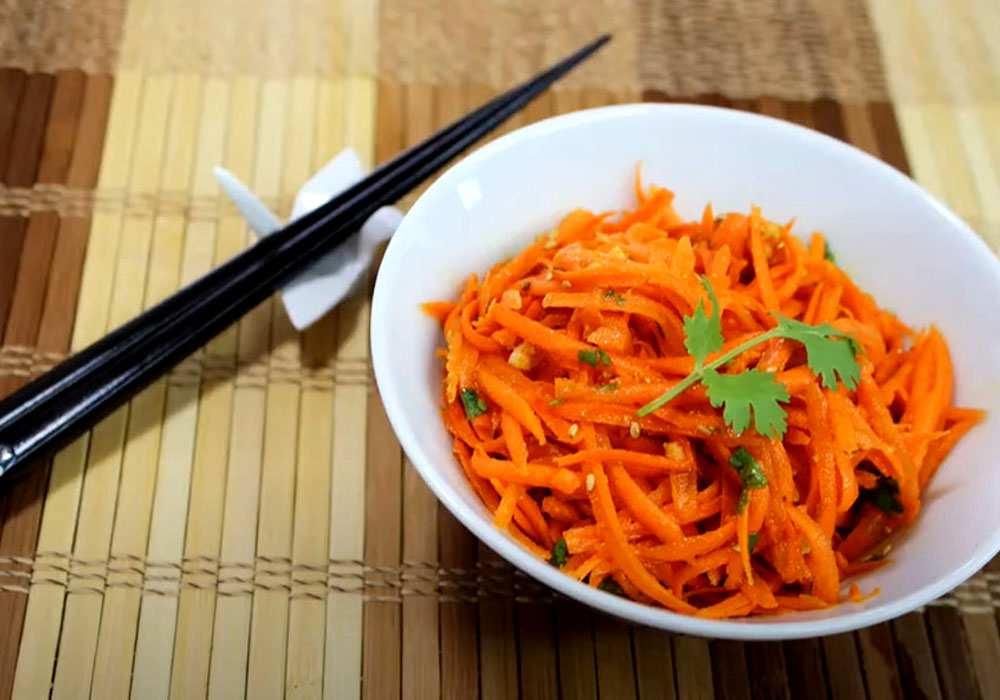 Морковь по-корейски - пошаговый рецепт, фото 1