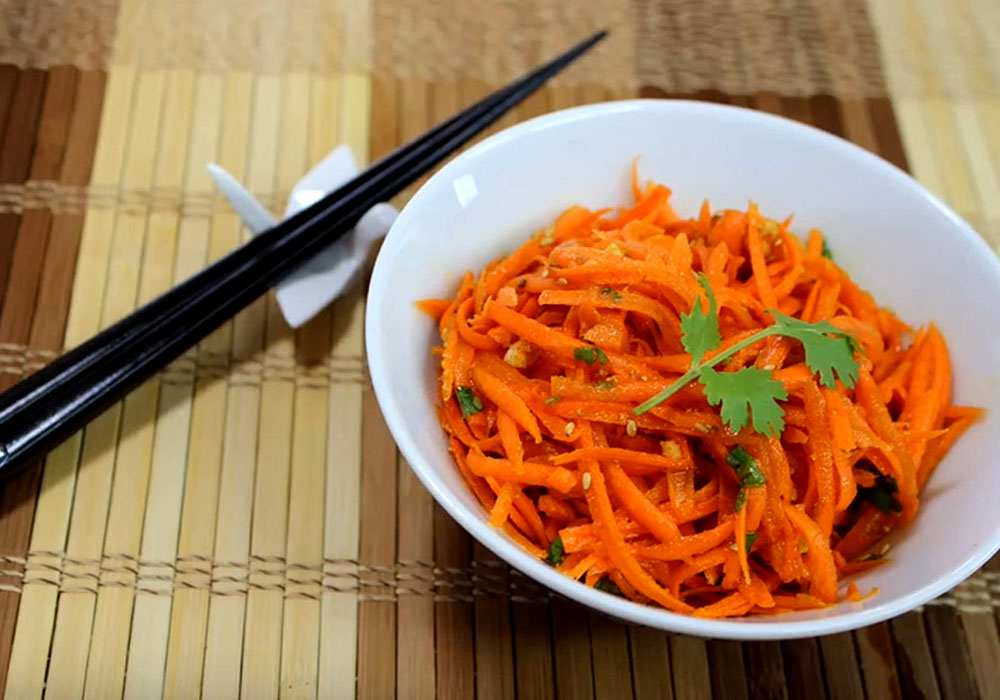 Морковка по-корейски - пошаговый рецепт, фото 1
