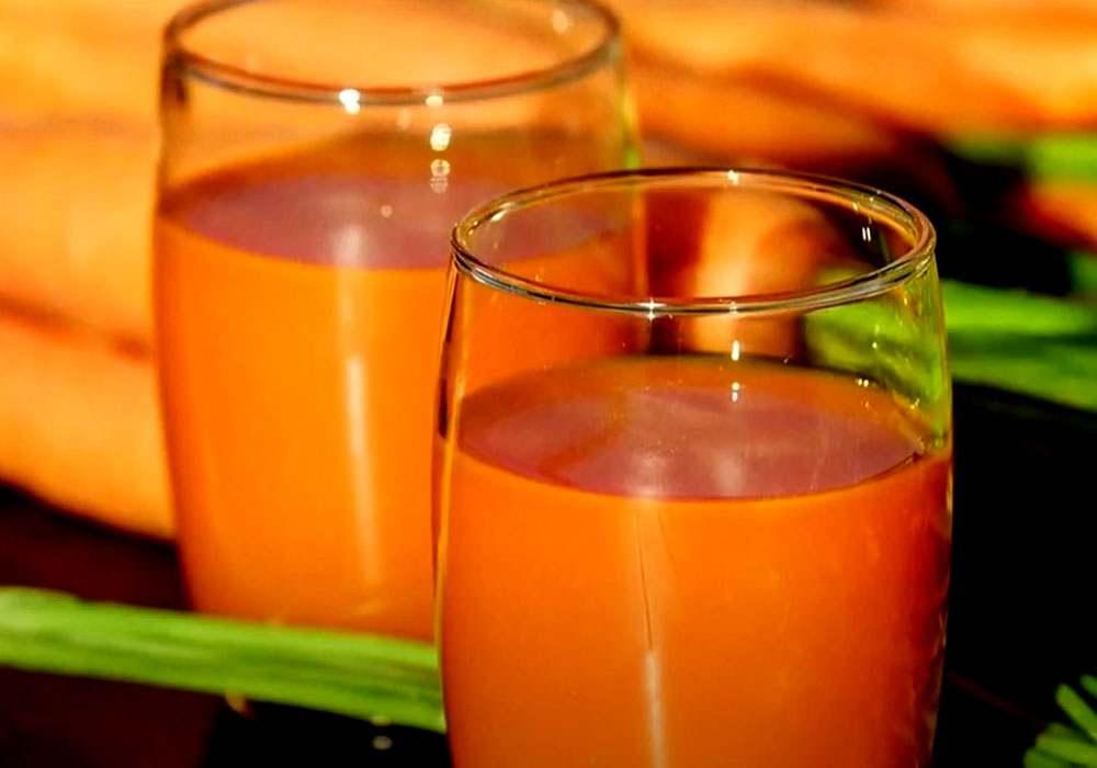 Морковный сок - пошаговый рецепт, фото 1