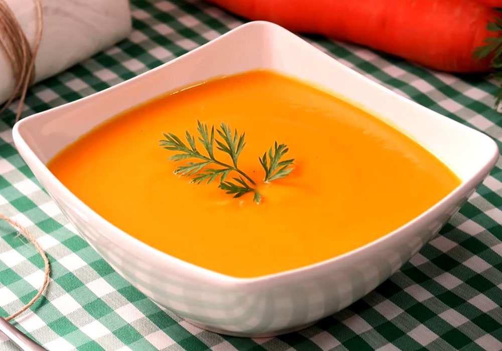Морковный суп - пошаговый рецепт, фото 1