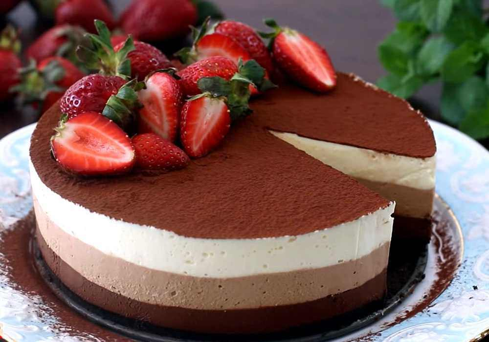 Мусс для торта - пошаговый рецепт, фото 1
