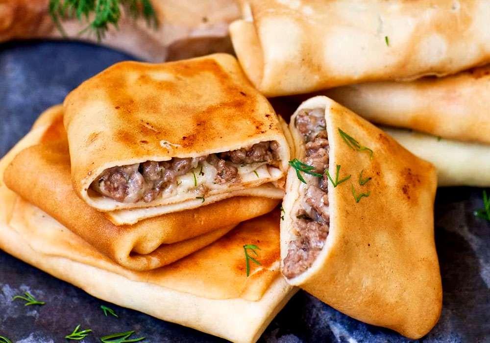 Налистники с мясом - пошаговый рецепт, фото 1