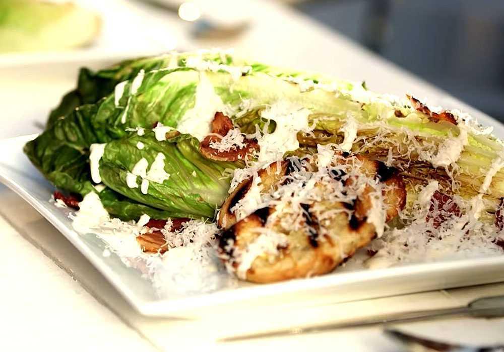 Настоящий салат Цезарь - пошаговый рецепт, фото 1