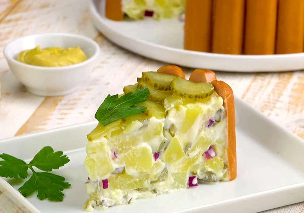 Немецкий картофельный салат - пошаговый рецепт, фото 1