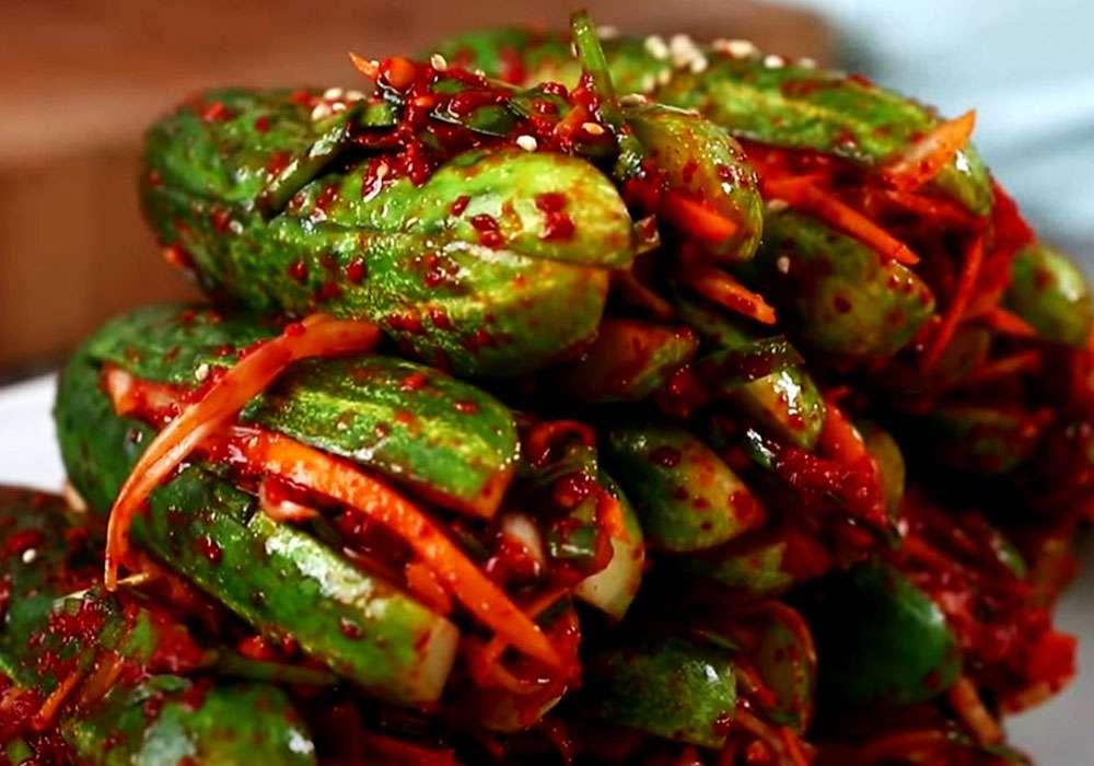 Огірки по-корейськи - покроковий рецепт, фото 1