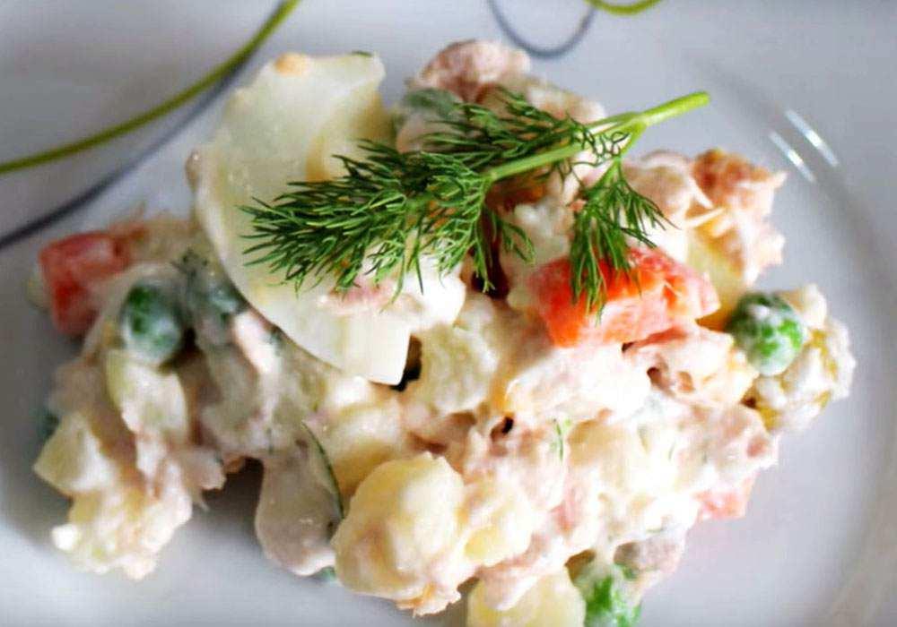 Оливье без колбасы - пошаговый рецепт, фото 1