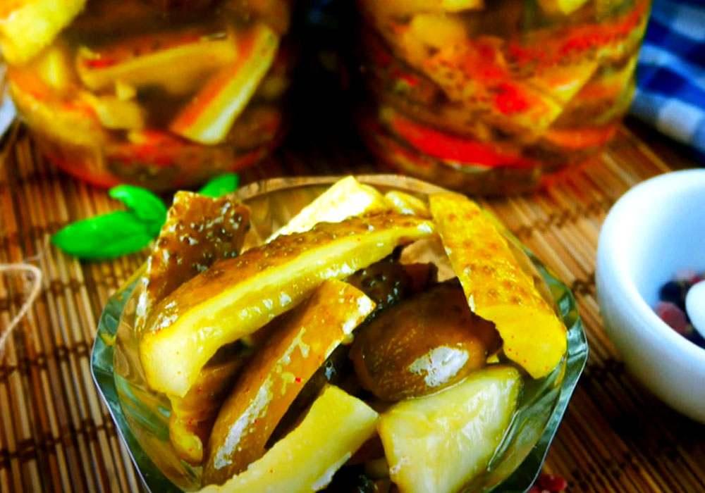 Остренькие огурчики - пошаговый рецепт, фото 1