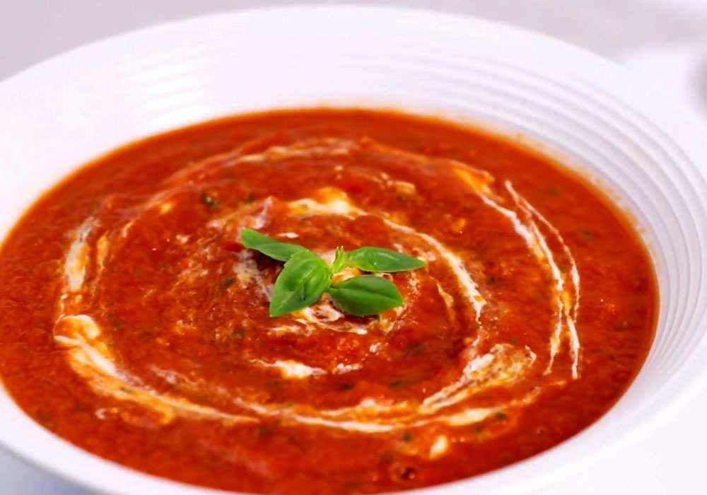 Острый томатный суп - пошаговый рецепт, фото 1