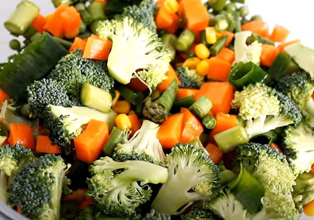 Овощное ассорти - пошаговый рецепт, фото 1