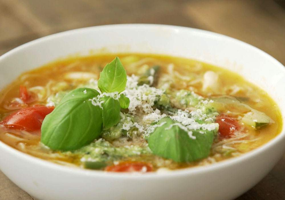 Овощной суп - пошаговый рецепт, фото 1