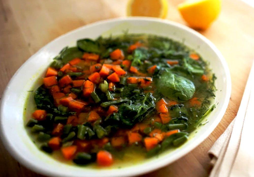 Овощной летний суп - пошаговый рецепт, фото 1