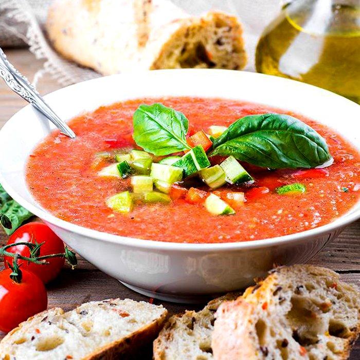 Овощной суп на кефире без соли - пошаговый рецепт, фото 1