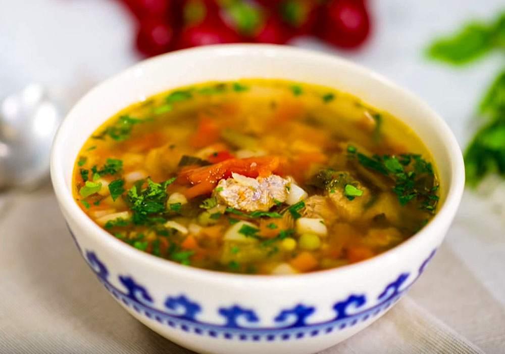 Овощной суп с фасолью - пошаговый рецепт, фото 1