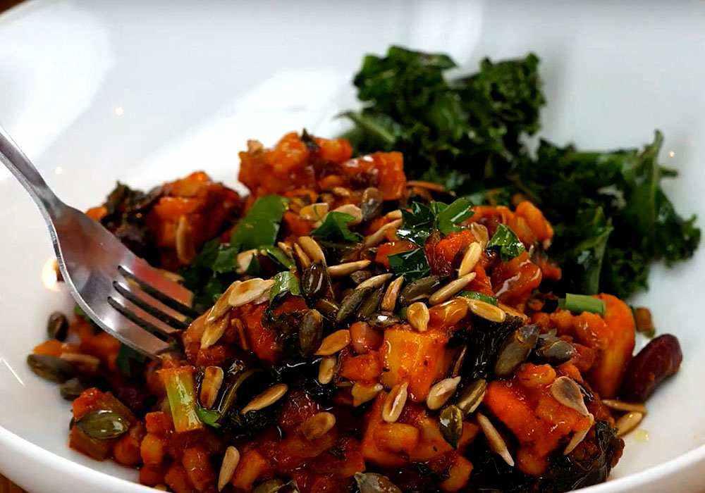 Овощное ассорти тушеное - пошаговый рецепт, фото 1