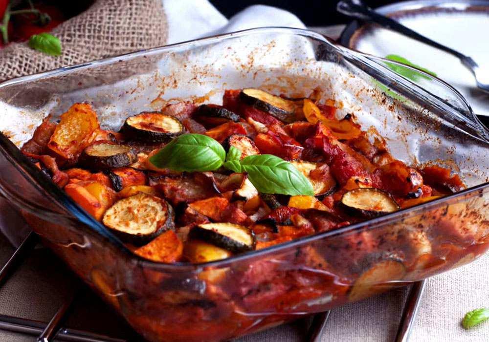 Овощное ассорти в духовке - пошаговый рецепт, фото 1