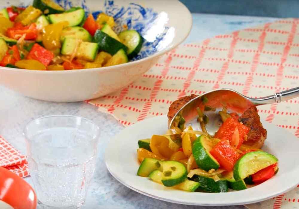 Овощное соте - пошаговый рецепт, фото 1
